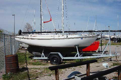 Cape Dory Typhoon sailboat