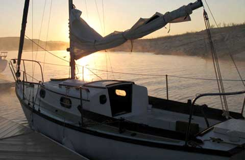 Cape Dory 22D