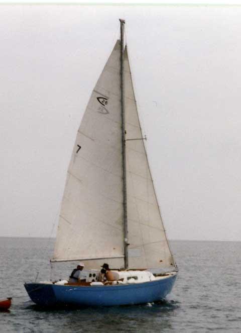Capitan 26 sailboat