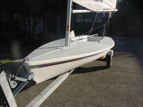 Capri 13 sailboat