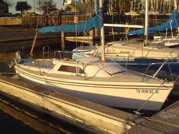 1986 Capri 18 sailboat