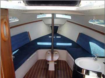 1996 Catalina 250 sailboat