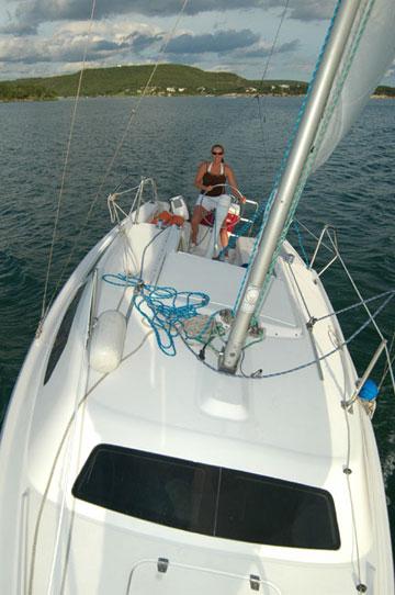 1996 Catalina 250 Water Ballast