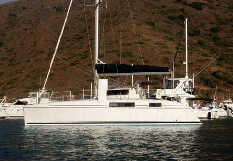 Catalina 39 catamaran yacht