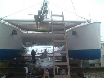1988 Catana 39 sailboat