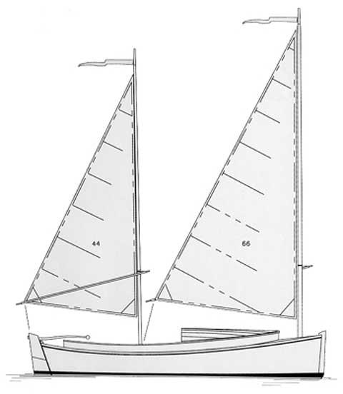 2004 Catbird 16 sailboat