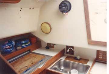 1973 C&C 27 sailboat