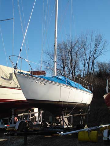 C Amp C 27 Sailboat For Sale