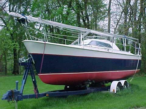 C And C Mega 30 Sailboat For Sale