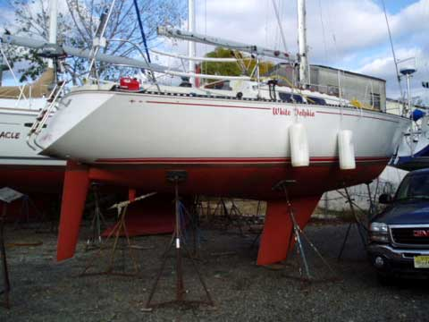 C amp C 34 sailboat for sale