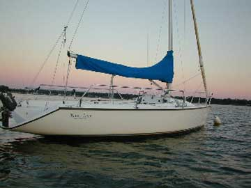 2002 Colgate 26 sailboat