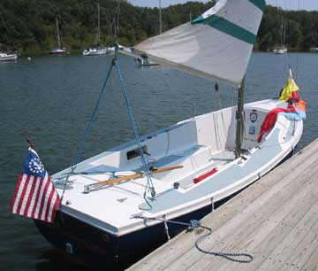 1970 Columbia 21 sailboat