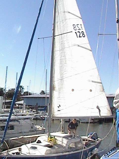 Columbia Contender 24 Sailboat For Sale