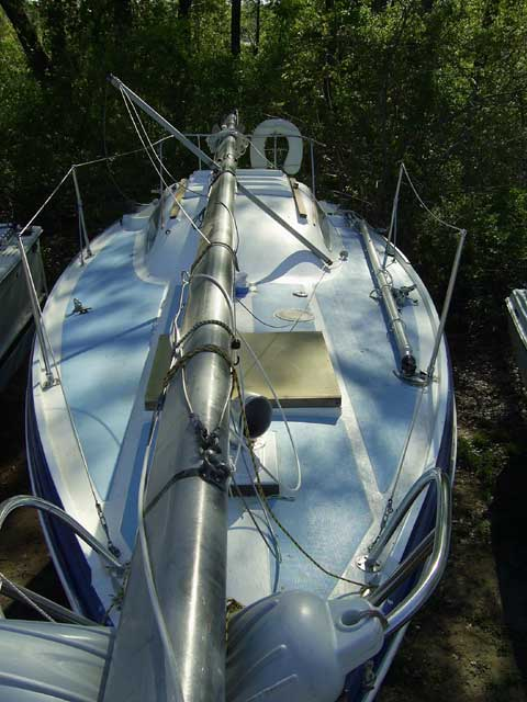 Columbia 26 MK II sailboat