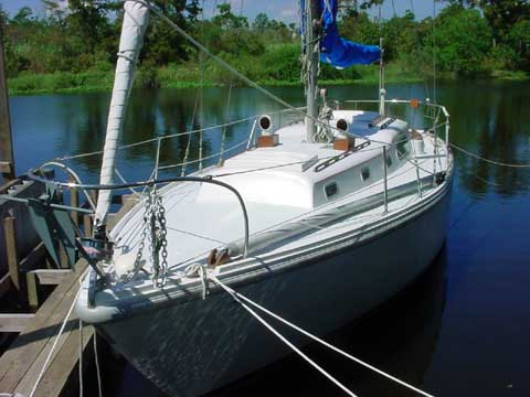 Columbia 36 sailboat