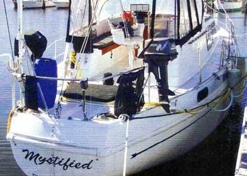 1973 Columbia 45 sailboat