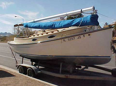 Compac Horizon Cat 20 Sailboat For Sale
