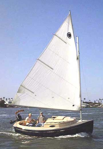 2001 ComPac Sun Cat sailboat