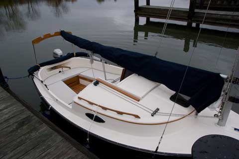 Optima Blue Top >> ComPac Suncat 17 sailboat for sale