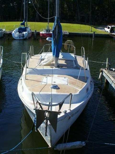 Step Deck Trailer >> Coronado 25 sailboat for sale