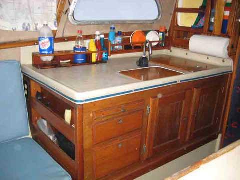Coronado 25 sailboat