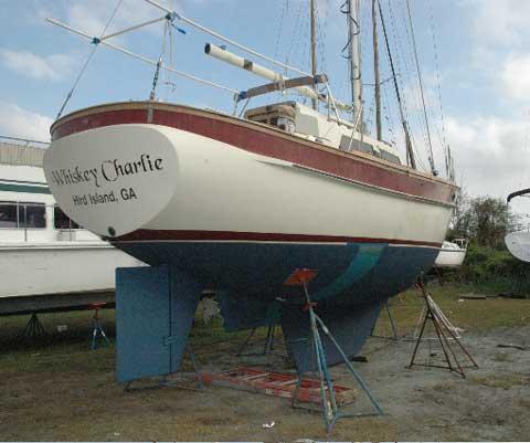 CSY 33 sailboat