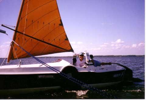 Dovekie 21 sailboat