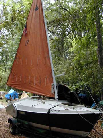 1979 Bolger Dovekie 21 sailboat