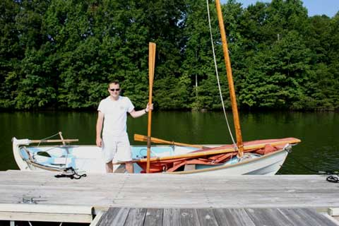 Drascombe Scaffie sailboat