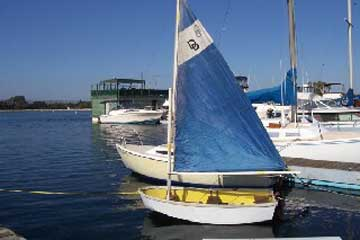 1962 Dyer 8' Dhow sailboat