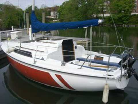 Edel 665 sailboat