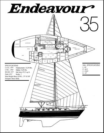 1985 Endeavour 35 sailboat