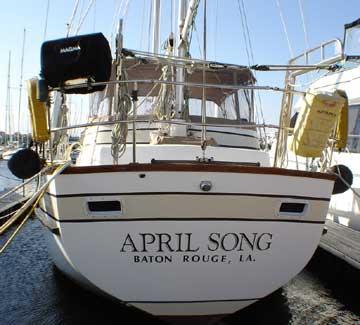 Endeavour 43 sailboat