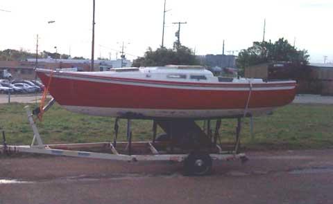 Ericson 23 sailboat