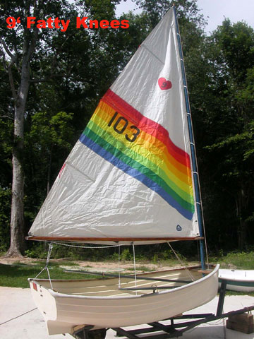 1984 Fatty Knees dinghy