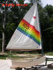 1984 Fatty Knees dinghy sailboat