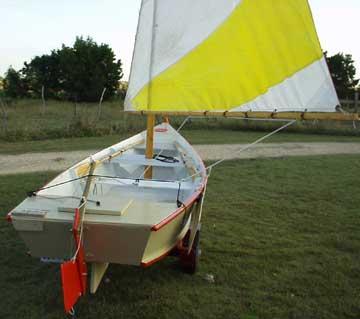 2002 Featherwind 15 sailboat
