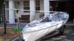 Finn sailboat