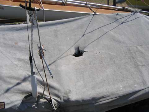 Fireball 16 sailing boat