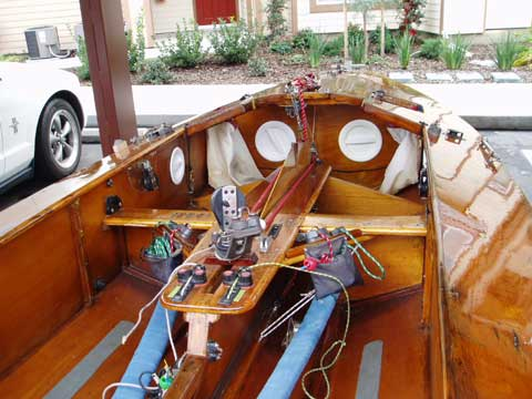 Fireball sailboat