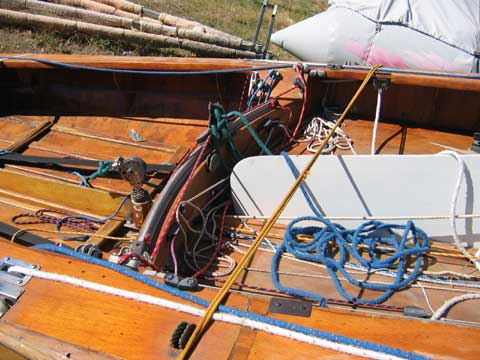 Flying Dutchman sailing boat