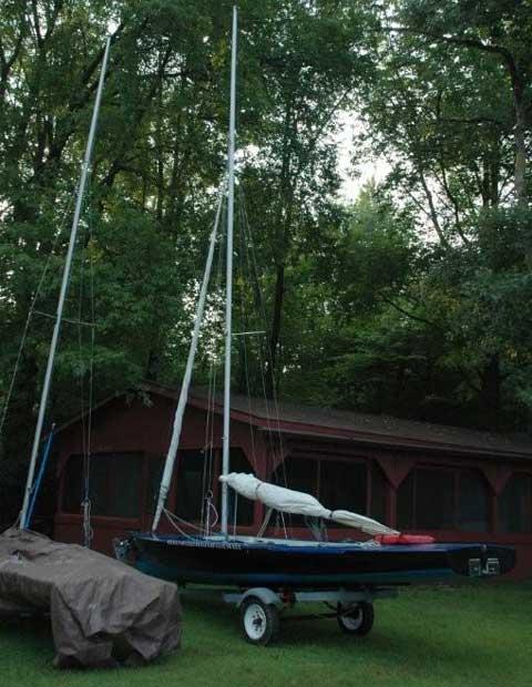 Flying Dutchman sailboat