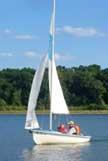 1974 Ghost 13 sailboat