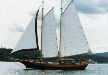 1983 J.K.Wyles and P. London Shipwrights sailboat