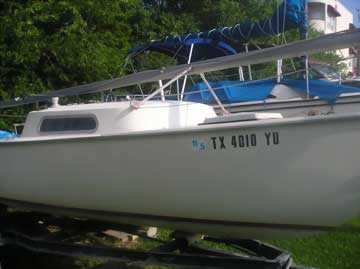 1974 Gulf Coast 20 sailboat