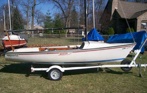 Harpoon 5.2 sailboat