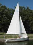 1983 Boston Whaler Harpoon 5.2 sailboat