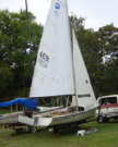 1980 Boston Whaler Harpoon 5.2 sailboat