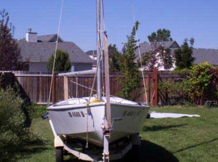 Interlake 18 sailboat