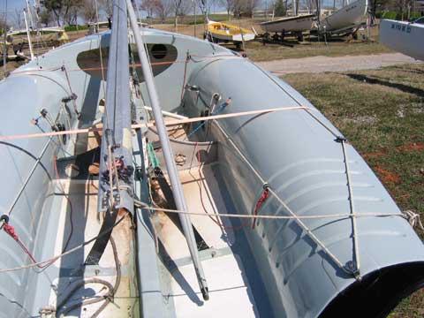 International 505 sailing boat